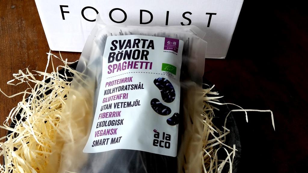 Black Bean Spaghetti aus der Foodist Healthybox März (mitRezept)