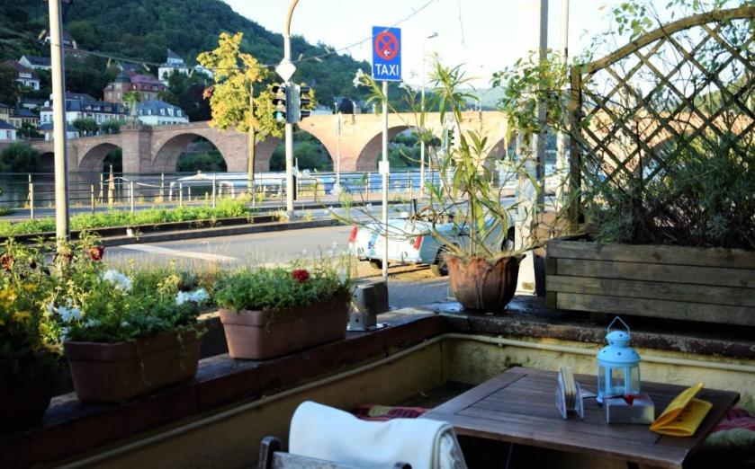 Heidelberg Restaurants Und Biergarten Mit Wasserblick