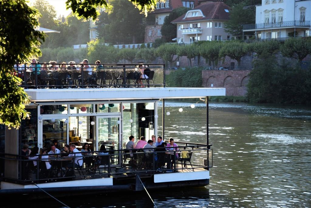 Heidelberg: Restaurants und Biergärten mitWasserblick