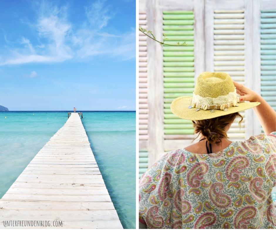 Mallorca Strandbars Meerblick - Unterfreundenblog