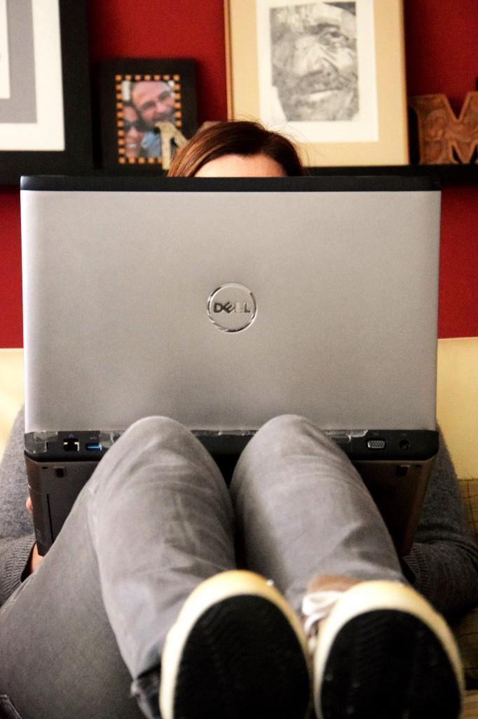 Unterfreundenblog Woche in Bildern Blogger at Work