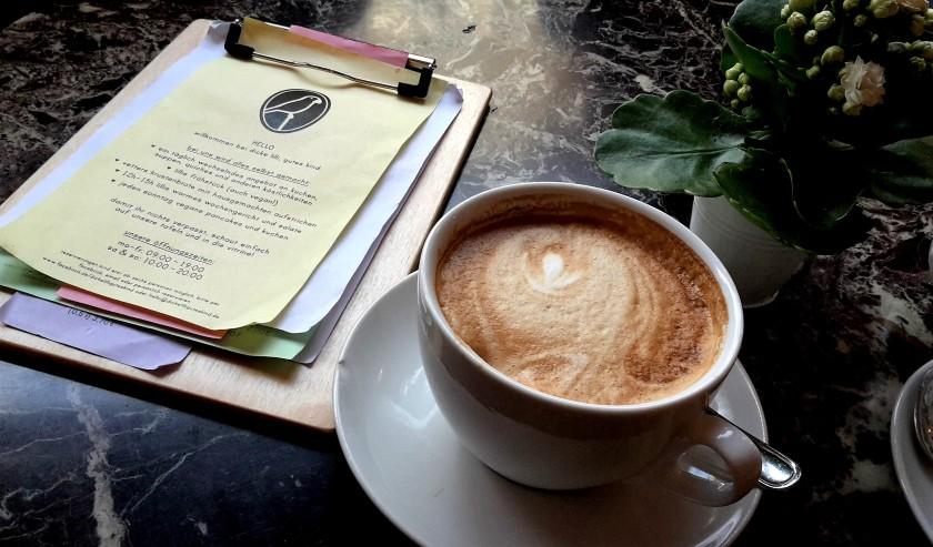 Unterfreundenblog Komm Kaffee trinken Dicke Lilli, Gutes Kind Mainz Capuccino