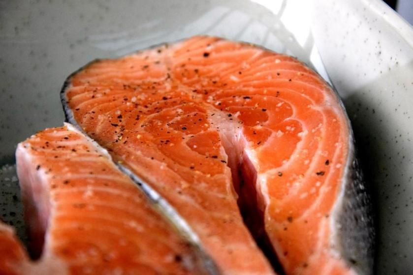 Unterfreundenblog Ottolenghi Lachs Pinienkernsalsa Salmon Pinenutssalsa Bridget Jones Rezept Recipe
