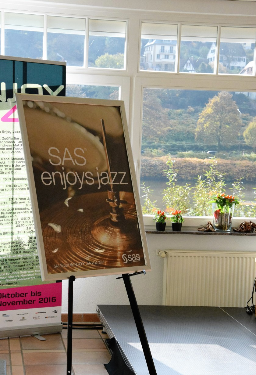 Unterfreundenblog Die Woche in Bildern Enjoy Jazz Heidelberg Music was my first love Gregor Ruppenthal Marly