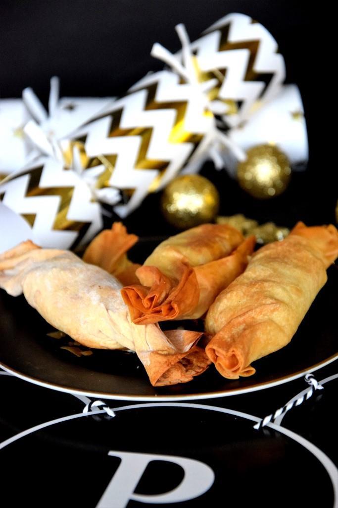 Unterfreundenblog Silvester Knallbonbons Buffet Partyfood Happy New Year