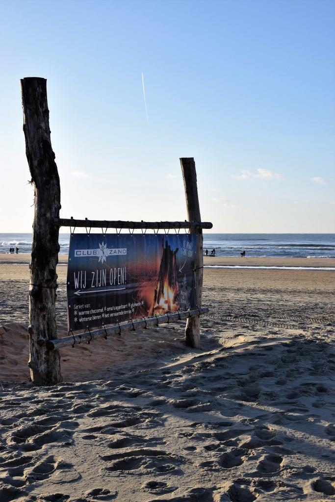 Unterfreundenblog Winter in Holland Fab Four Castricum an Zee Strandpavillon Club Zand Strandpaviljoen