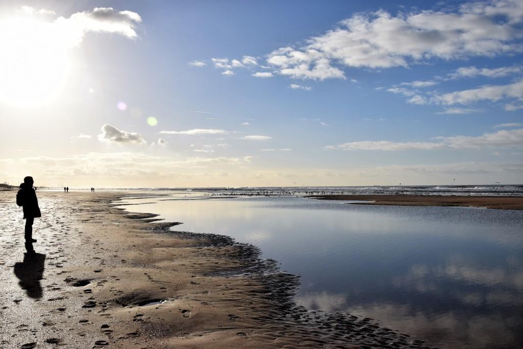 Holland Winter Nordseeküste Nordholland Strand Urlaub