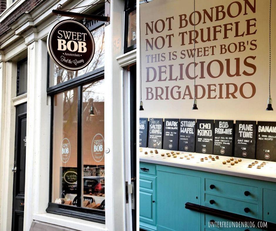 Die süßeste Adresse in Amsterdam: SWEET BOB und ein Rezept für Brigadeiros, die kultigen Kugeln ausBrasilien