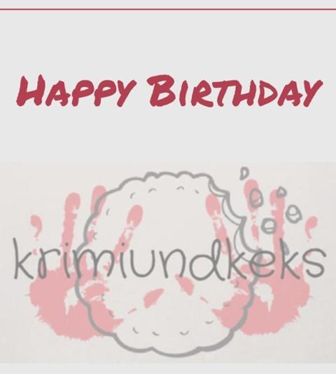 Happy Birthday KrimiundKeks Bloggeburtstag Gastbeitrag Süße Kekse Sweet Fries - Unterfreundenblog