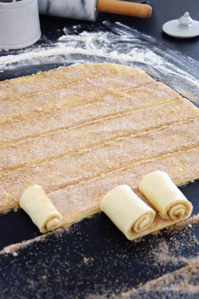 Unterfreundenblog Valentinstag Zimtherzen Cinnamon Rolls