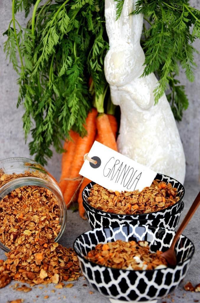 Karottenkuchen zum Frühstück: Carrot CakeGranola