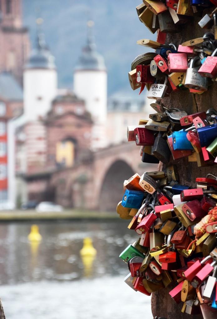 Unterfreundenblog - Heidelberg Alte Brücke Liebesstein