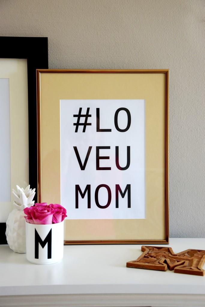 Unterfreundenblog - Free Printable zum Muttertag #LoveUMom