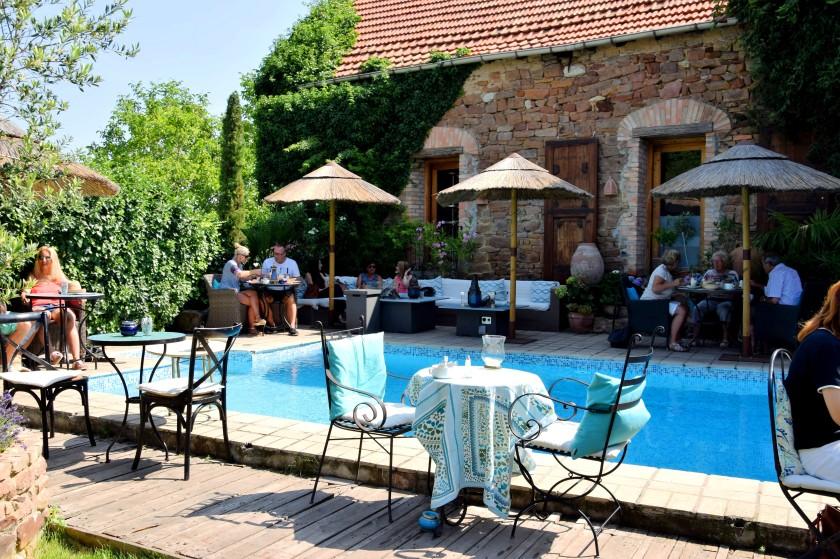 Restaurant und Biergarten mit Wasserblick Rhein-Neckar-Region - Café Solo Weisenheim Pfalz - Unterfreundenblog
