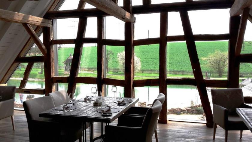 Diner mit Seeblick - so schön im Landgut Lingental, Leimen