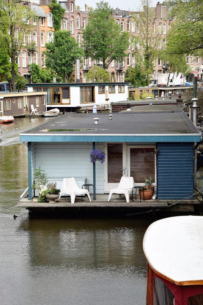 Ahoi Amsterdam - Urlaub auf dem Hausboot