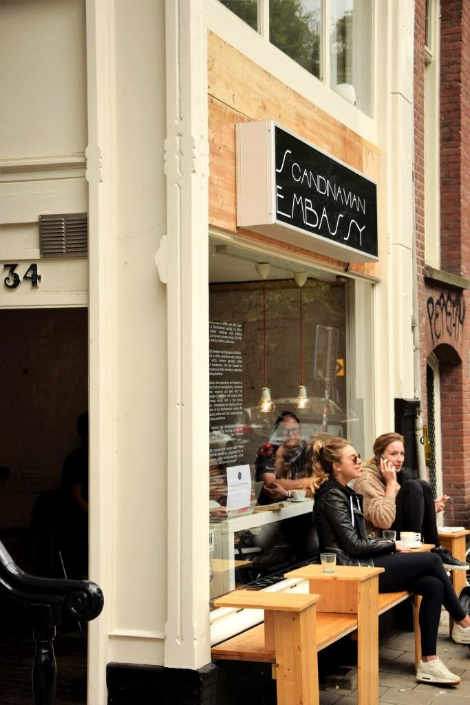 Lieblings-Cafés in Amsterdam: Scandinavian Embassy
