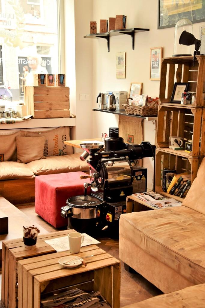 Lieblings-Cafés in Amsterdam: La Boutique del Caffe