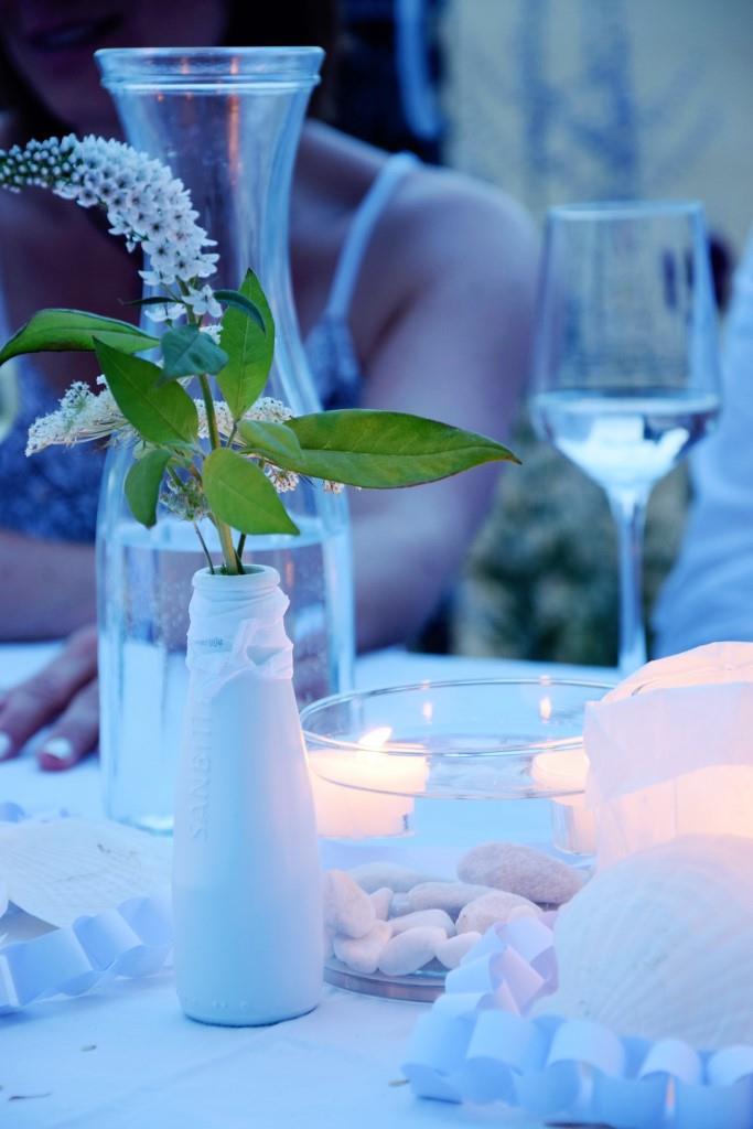 Abendstimmung beim White Dinner / Diner en blanc der Rhein-Neckar-Blogger - Unterfreundenblog