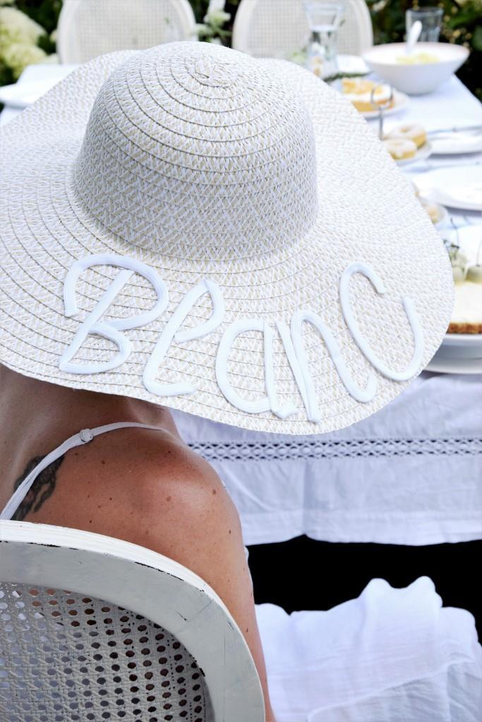 Outfit / DIY Hut zum White Dinner / Diner en blanc - Unterfreundenblog