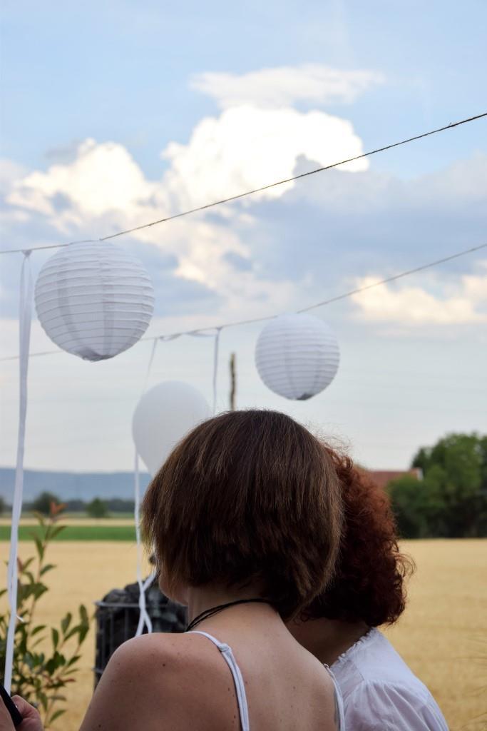 Geeiste Melonenbowle zum White Dinner - Unterfreundenblog