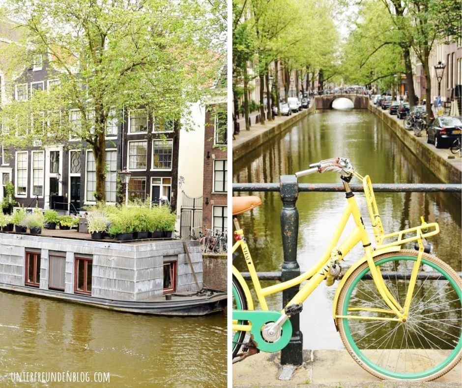 Hausboot mieten Amsterdam