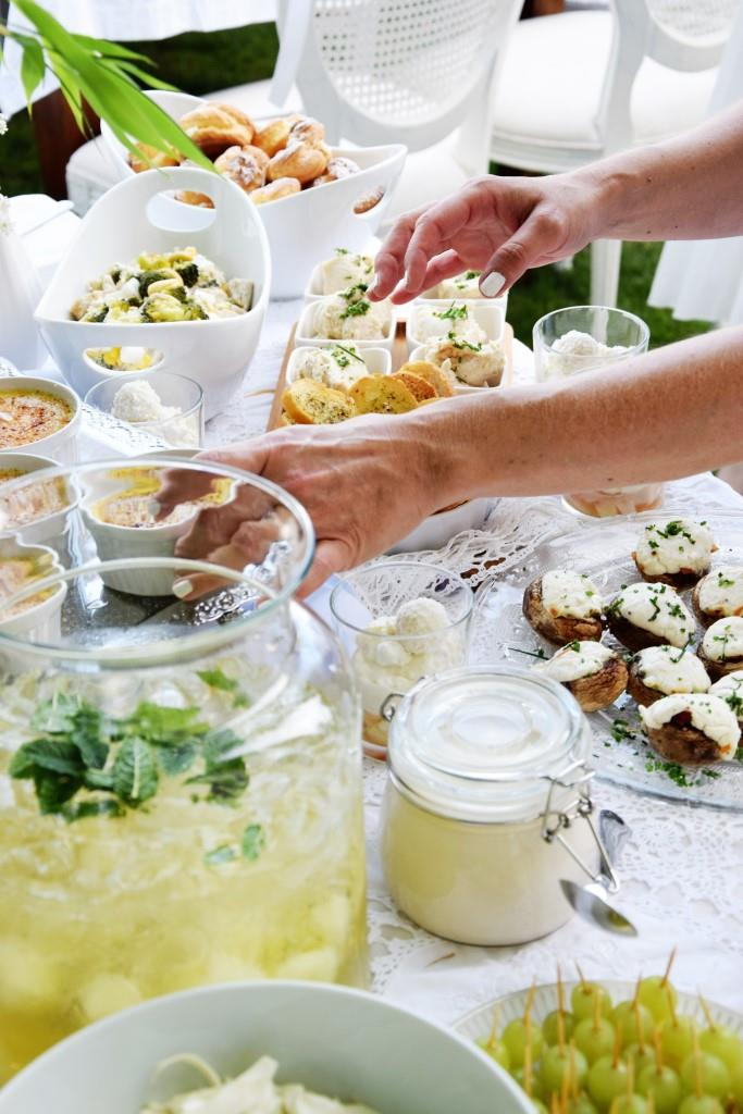 White Dinner Diner en blanc Rheinneckarblogger Blogevent / Unterfreundenblog