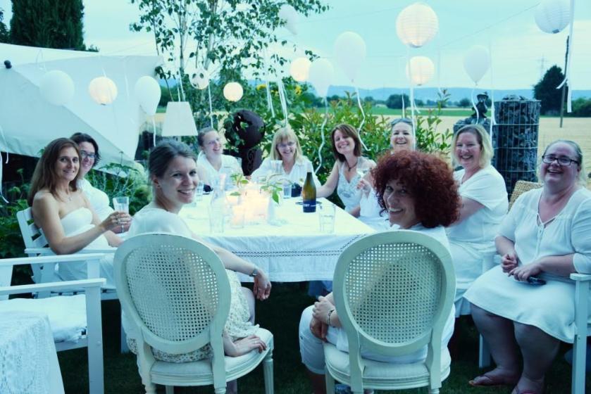 Rhein-Neckar-Blogger beim White Dinner