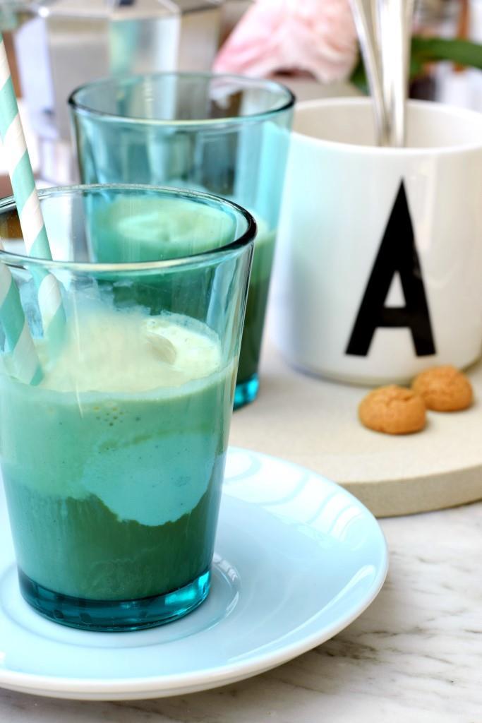 Sommer-Dessert: Affogato al caffe / Espresso mit Vanilleies - Unterfreundenblog