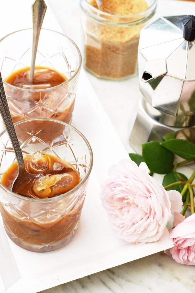 Dreierlei Hitzefrei - Espresso on the rocks / Café con hielo - erfrischende Sommergetränke - Unterfreundenblog