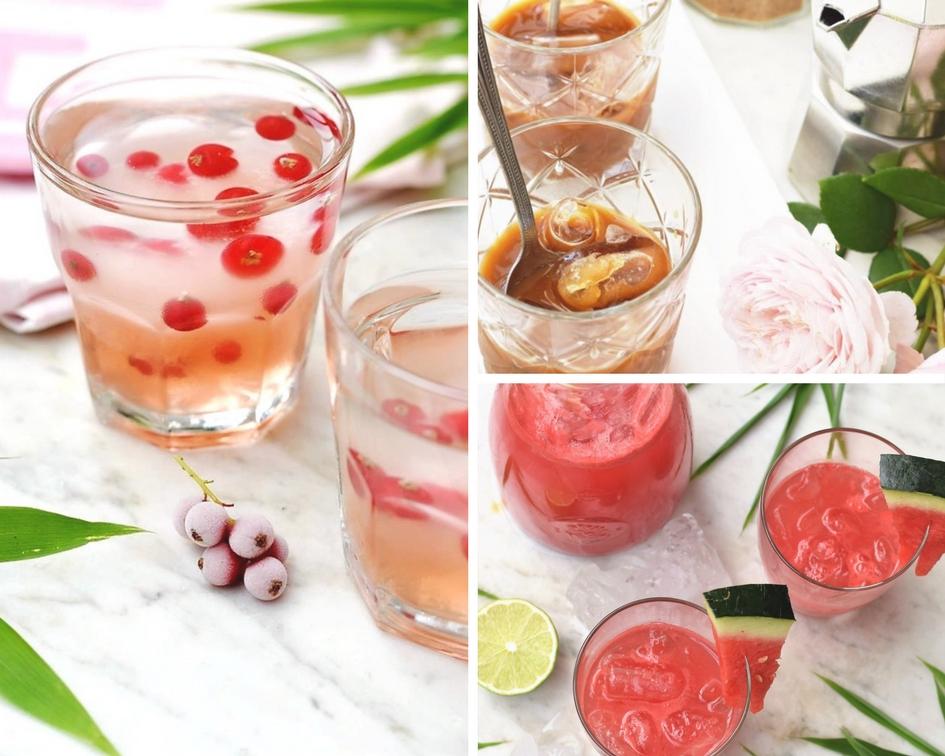 Dreierlei Hitzefrei – super erfrischendeSommer-Getränke