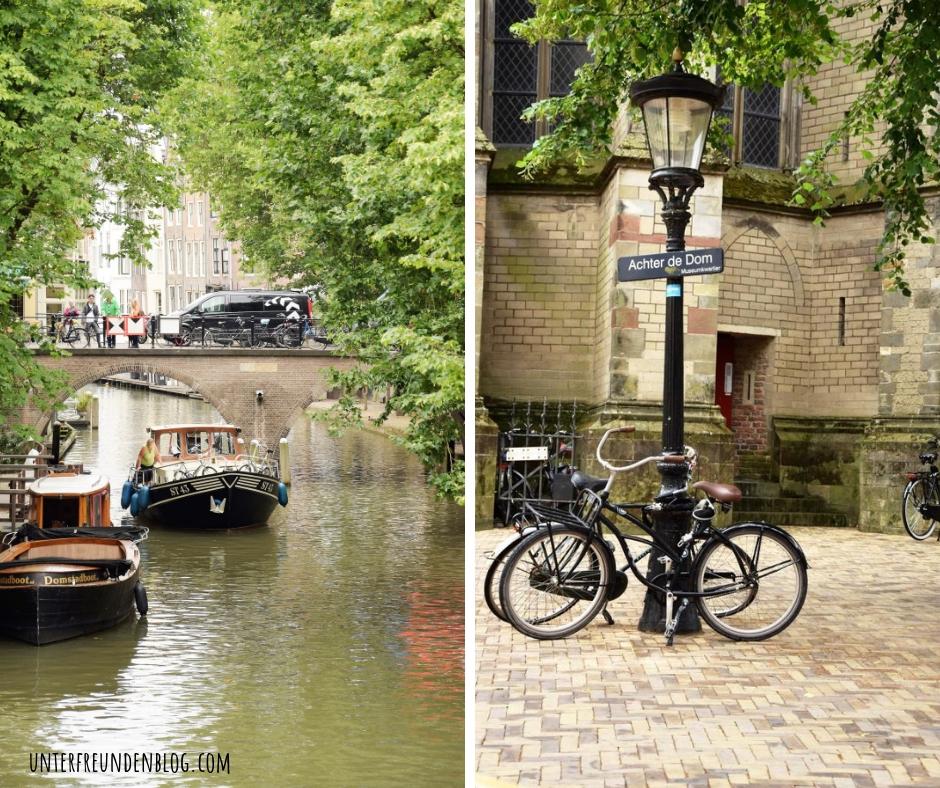 Utrecht-Impressionen – ein Sommer-Wochenende