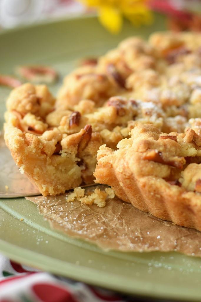 Apfelkuchen Brezelstreusel Ozapft is Oktober Special Unterfreundenblog mit Bonprix