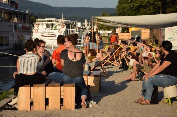 Neckarstrand Sound und Video Neckarorte Heidelberg - Unterfreundenblog Wochenendtipps Rhein-Neckar-Region