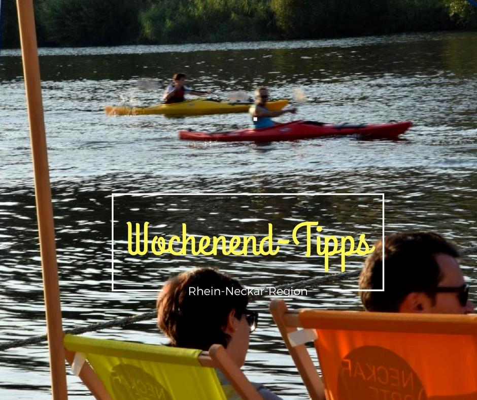 Wochenend-Tipps 22.-24.09.2017 (Rhein-Neckar-Region)