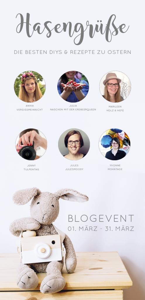 Blogevent Hasengrüße