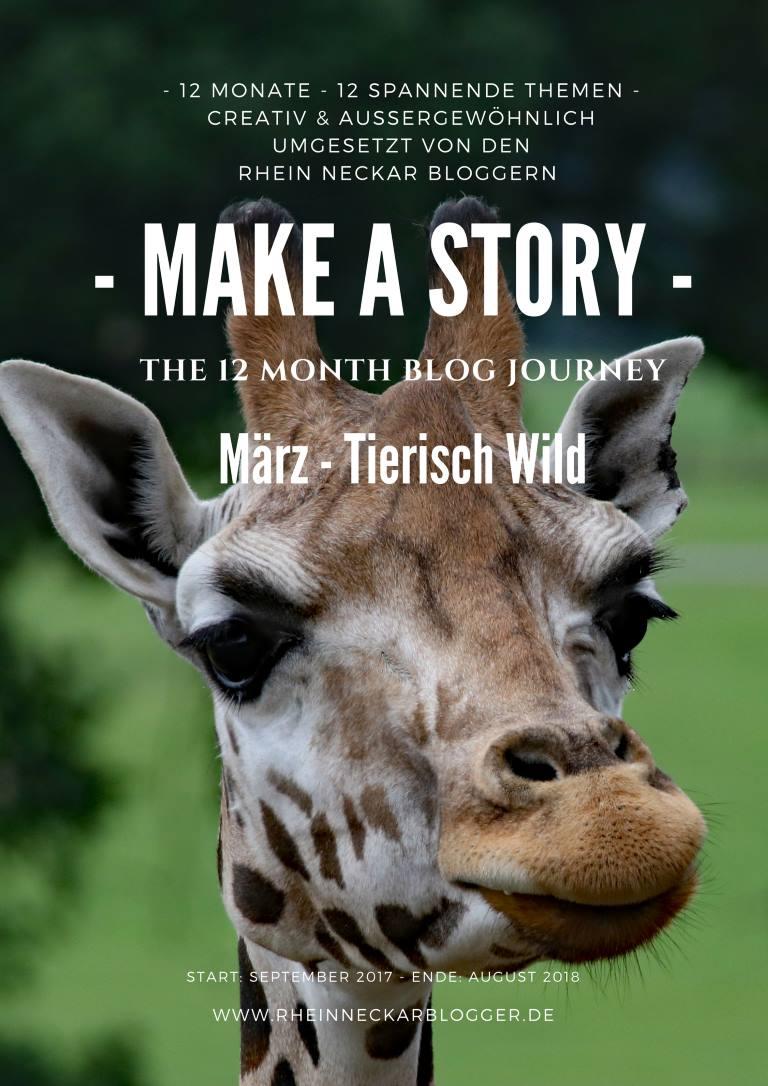 Rhein-Neckar-Blogger: Make a story - Motto im März: Tierisch wild