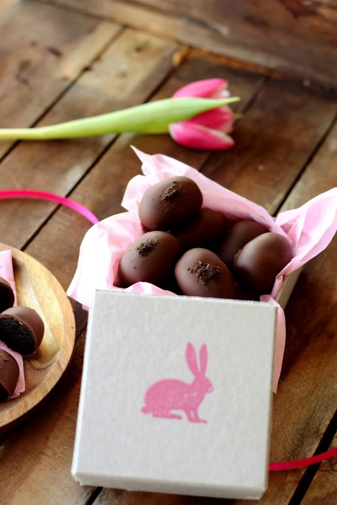 Der Osterhase bringt köstliche OREO Trüffelchen - schnell gemacht aus 3 Zutaten