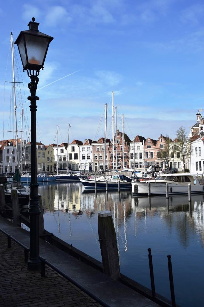 Wunderschön! Goes in Zeeland mit seinem kleinen Stadthafen