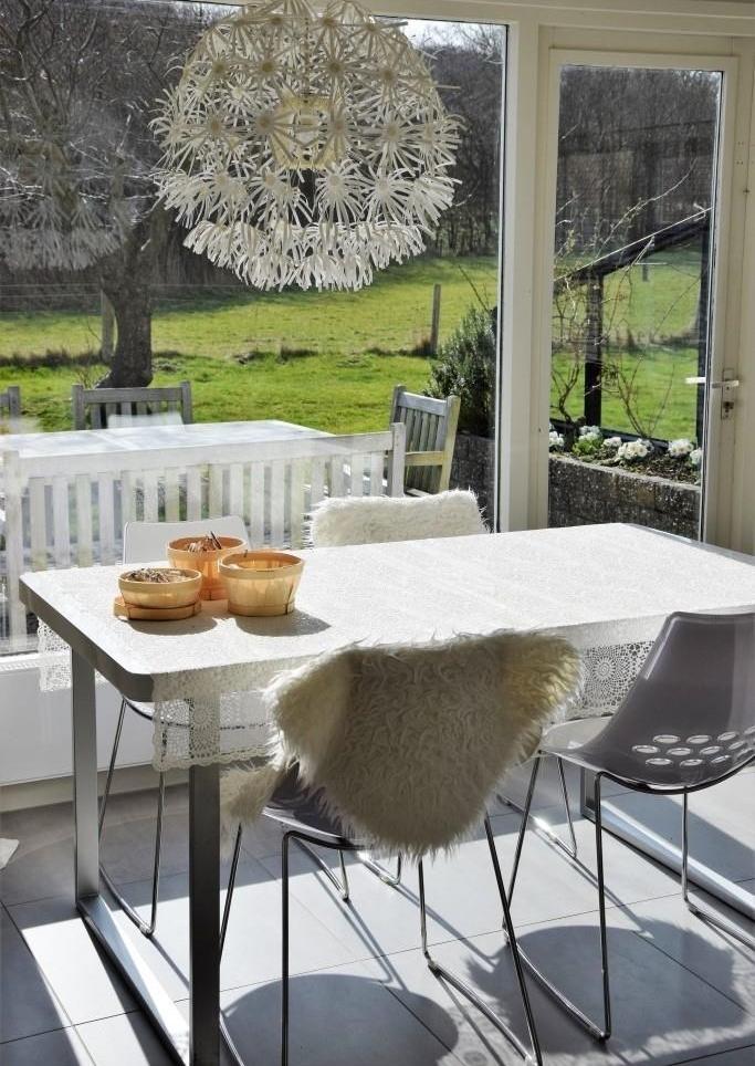 White Living - auch im Holland-Ferienhaus am Meer