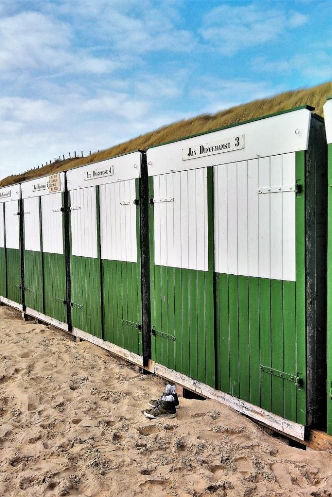 Waiting for summer - die Strandhäuschen an Zeelands endlosen Stränden