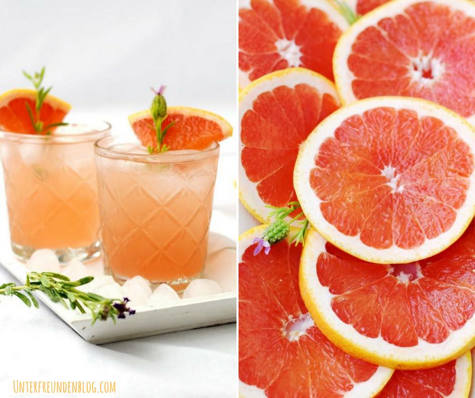 Rosé-Grapefruit-Spritz, der schnelle Sommer-Aperitif aus Frankreich! Oh la la, solecker!
