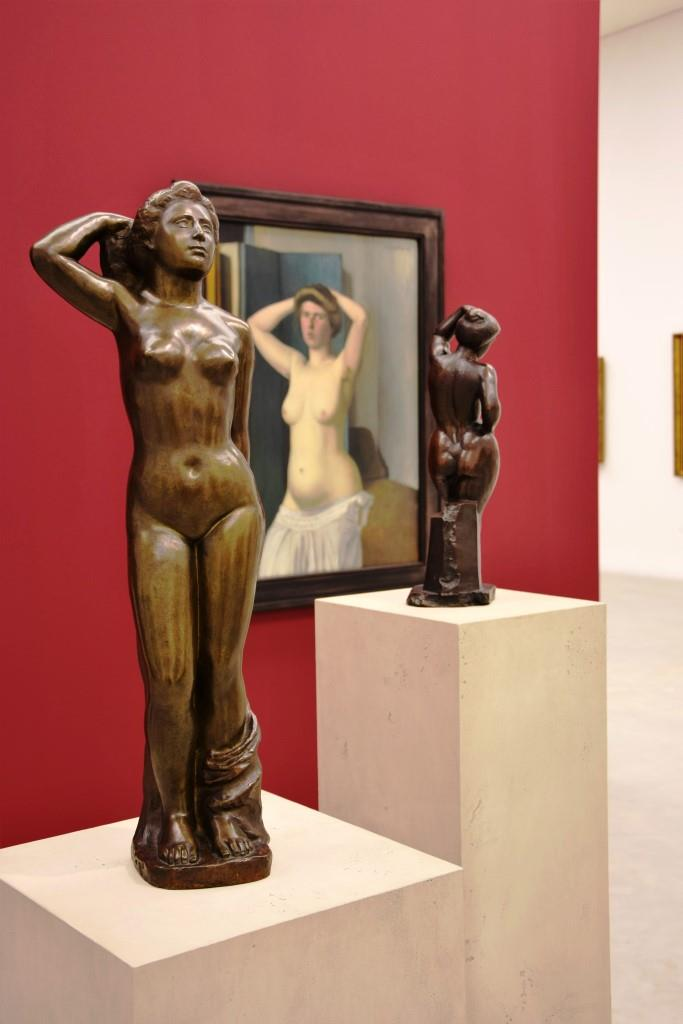 Nackte Schönheiten in der neuen Kunsthalle Mannheim