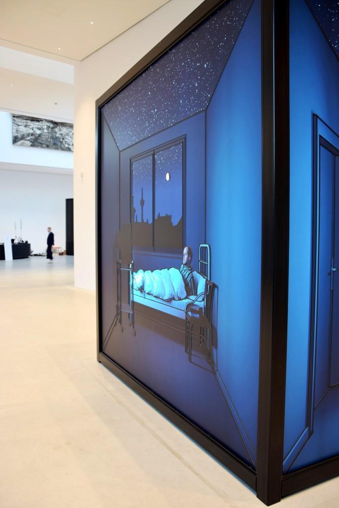 Die Lobby der neuen Kunsthalle Mannheim