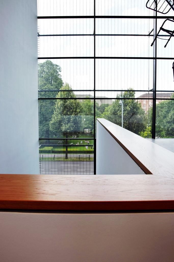 Gerade Linien und wunderbare Ausblicke - die neue Kunsthalle Mannheim. Die Stadt in der Stadt