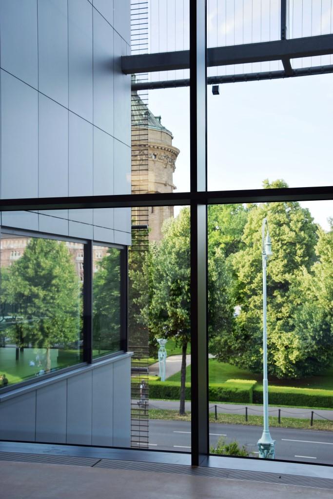In der Kunsthalle Mannheim verschwimmen die Grenzen von innen und außen
