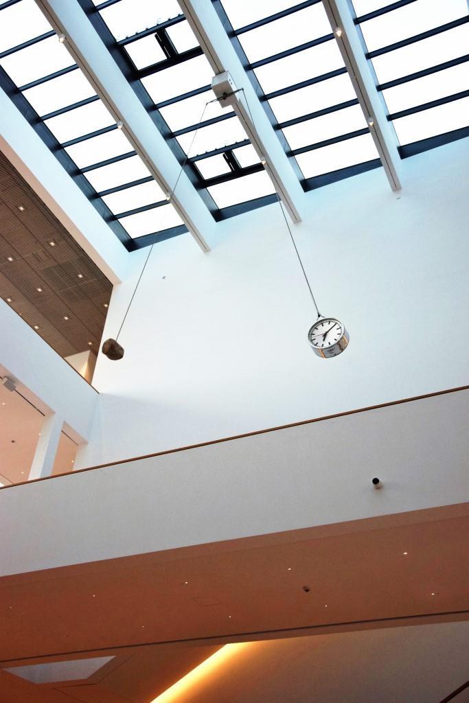 Tick Tock - und ewig läuft die Zeit - Installation ZEIT in der neuen Kunsthalle Mannheim