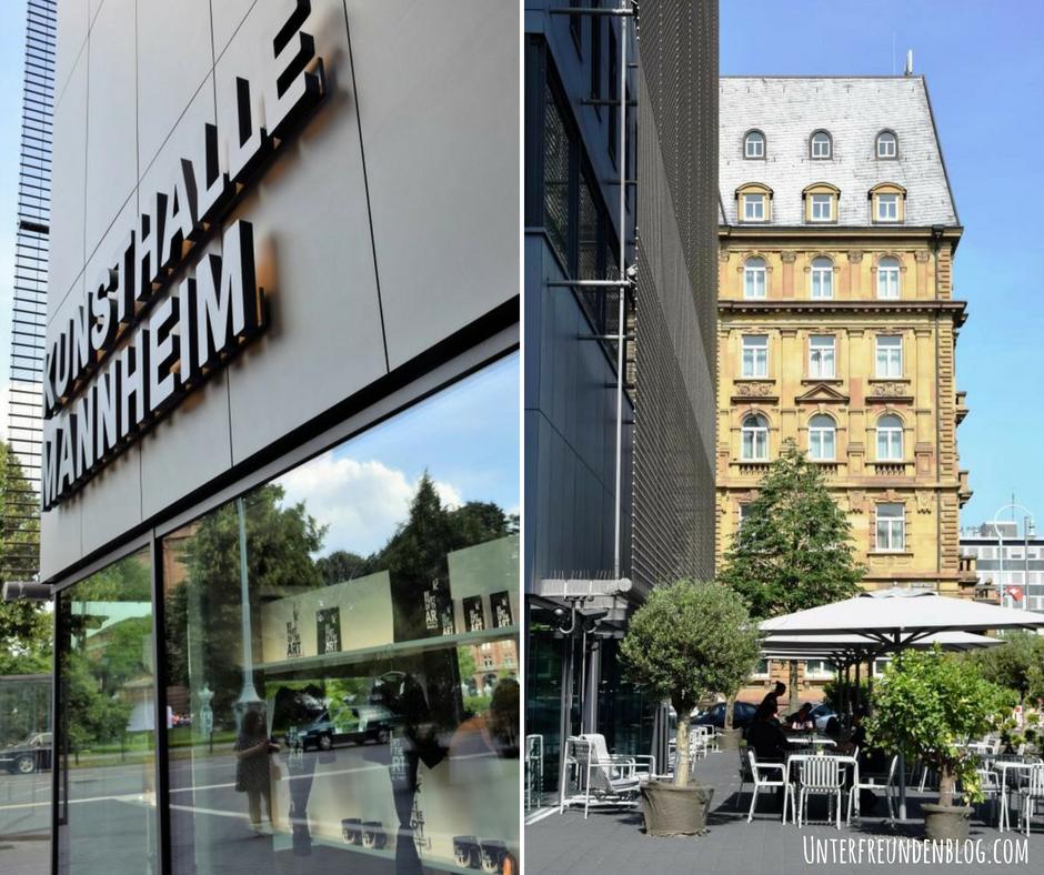 Neu in Mannheim: die KuMA Kunsthalle Mannheim und das Restaurant, Café und Bar LUXX