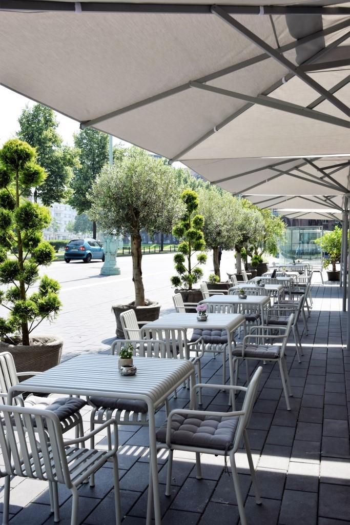 Willkommen auf der Terrasse des LUXX in Mannheim