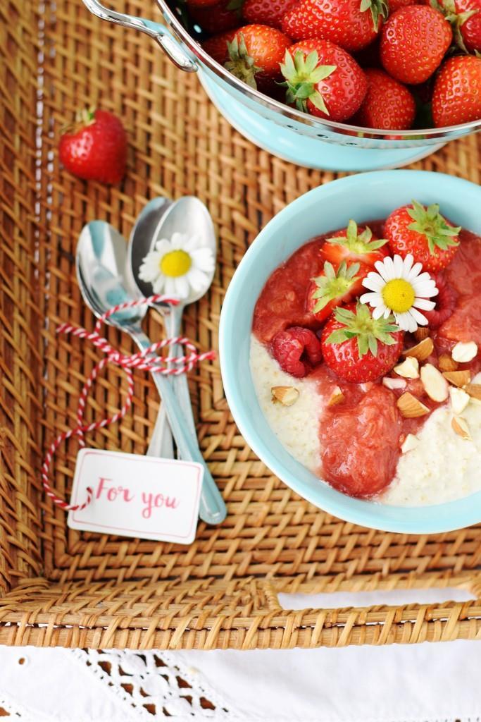 Das perfekte Frühstück für Morgenmuffel - Overnight Oats sind schon fertig, wenn man aufsteht!
